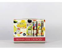 Жидкость UKC 10ml с никотином (Цена за 10 штук), разные вкусы, отлично передает вкус, жидкость для кальяна с никотином