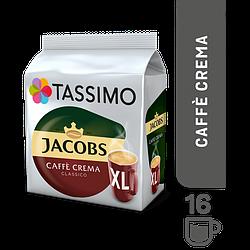 Кофе в капсулах Tassimo Jacobs Caffe Crema Classico XL 16 порций. Германия (Тассимо), 132.8г