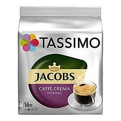 Кофе в капсулах Tassimo Jacobs Caffe Crema Intenso 16 порций. Германия (Тассимо)