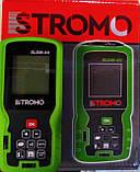 Лазерний далекомір Stromo SLDM-60. Лазерна рулетка Стромо, фото 3