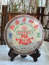 """Китайский Чай Пуэр """"Мэнхай Лао Шу"""" 2009 года 357 г"""