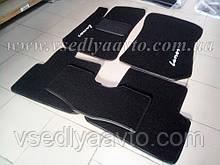 Ворсовые коврики в салон ZAZ Lanos (Черные)