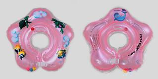 Круг для купания младенцев Дельфін 0+