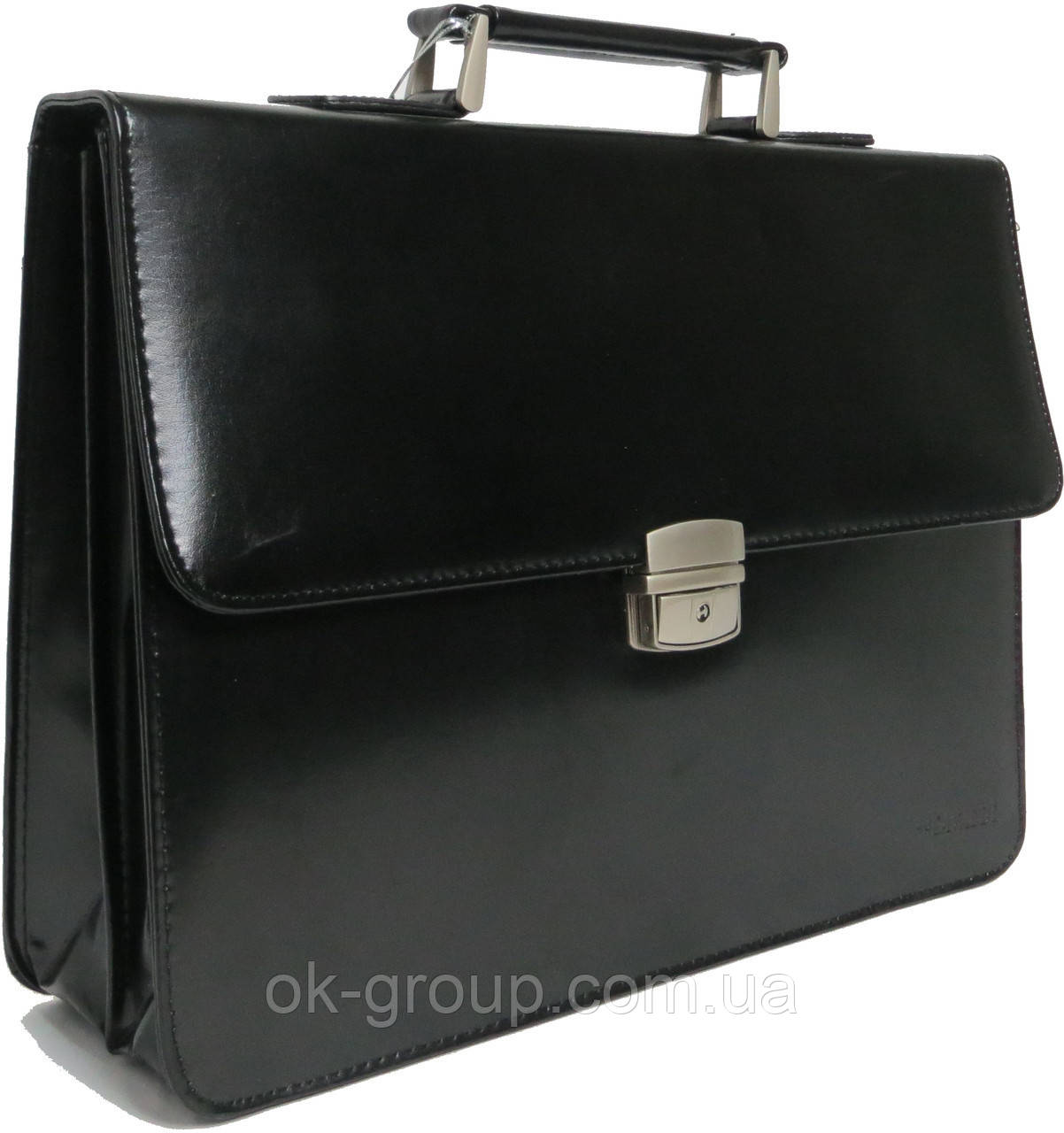 Портфель из кожезаменителя 4U Cavaldi B020139-S черный