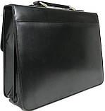 Портфель из кожезаменителя 4U Cavaldi B020139-S черный, фото 3