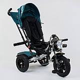 Трехколёсный детский велосипед Best Trike 4490 - 2209 с надувными колесами, ПУЛЬТ ВКЛ. СВЕТА И ЗВУКА, фото 2