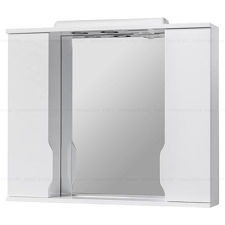 Зеркало с подсветкой для ванной комнаты ВИСЛА Z11 95 (белое), фото 2