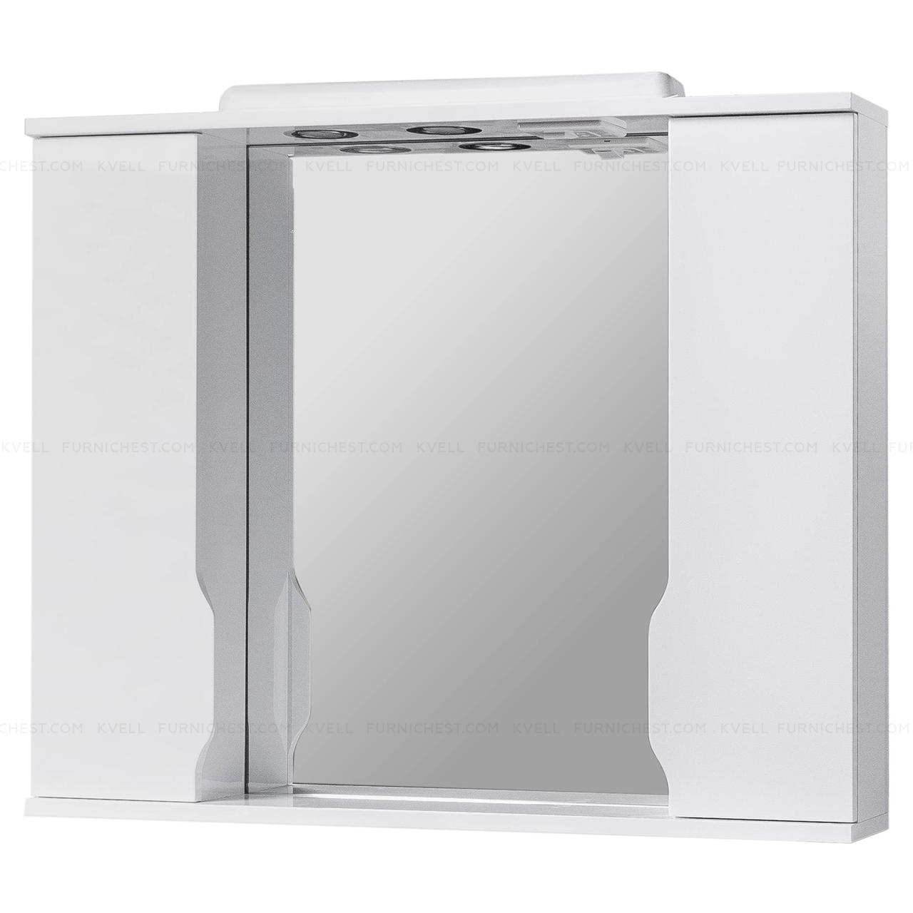 Зеркало с подсветкой для ванной комнаты ВИСЛА Z11 95 (белое)