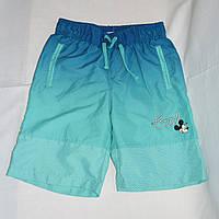 Плавательные детские шорты Disney р.122 на 6-7 лет