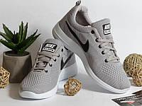 0310 Кроссовки Nike Zoom Серые. Текстиль, фото 1