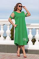 Батальне плаття з сіткою на рукавах.Р-ри 50- 56