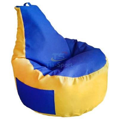Кресло груша с карманом Люкскомфорт
