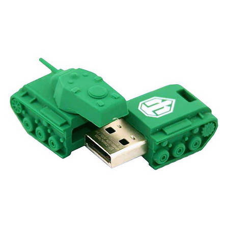 Флеш USB KINGSTON DT-TANK 16 GB WoT Rubber Tank, фото 2