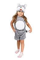 Детский карнавальный маскарадный костюм Кот для мальчика и девочки размер:104-122