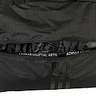 "Сумка спортивная на колесах Adidas Trolley ""Martial arts""  Polyester adiACC057 Черная с красным, фото 6"