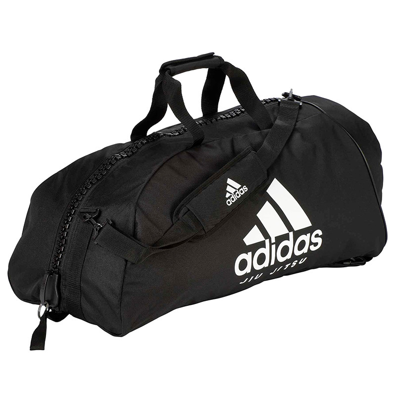 "Сумка-рюкзак Adidas 2in1 Bag ""Jiu-Jitsu"" Nylon, adiACC052 Черная"