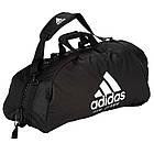 """Сумка-рюкзак Adidas 2in1 Bag """"Jiu-Jitsu"""" Nylon, adiACC052 Черная, фото 4"""