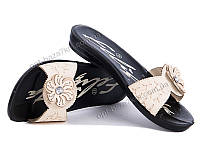 Шлепки женские Selena Феличита тапок бежевый (36-40) - купить оптом на 7км в одессе