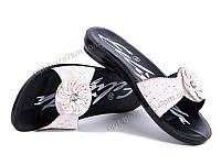 Шлепки женские Selena Феличита тапок белый (36-40) - купить оптом на 7км в одессе