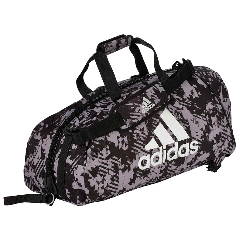 "Сумка-рюкзак Adidas 2in1 Bag ""Martial arts"" Nylon, adiACC052 Хакки"