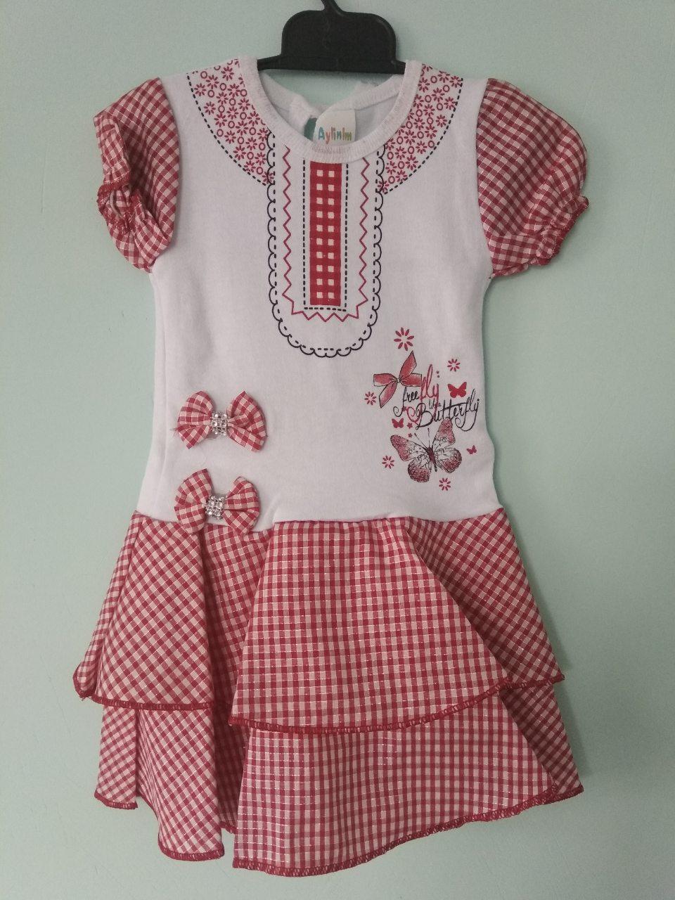 Платье летнее для девочки 2 года