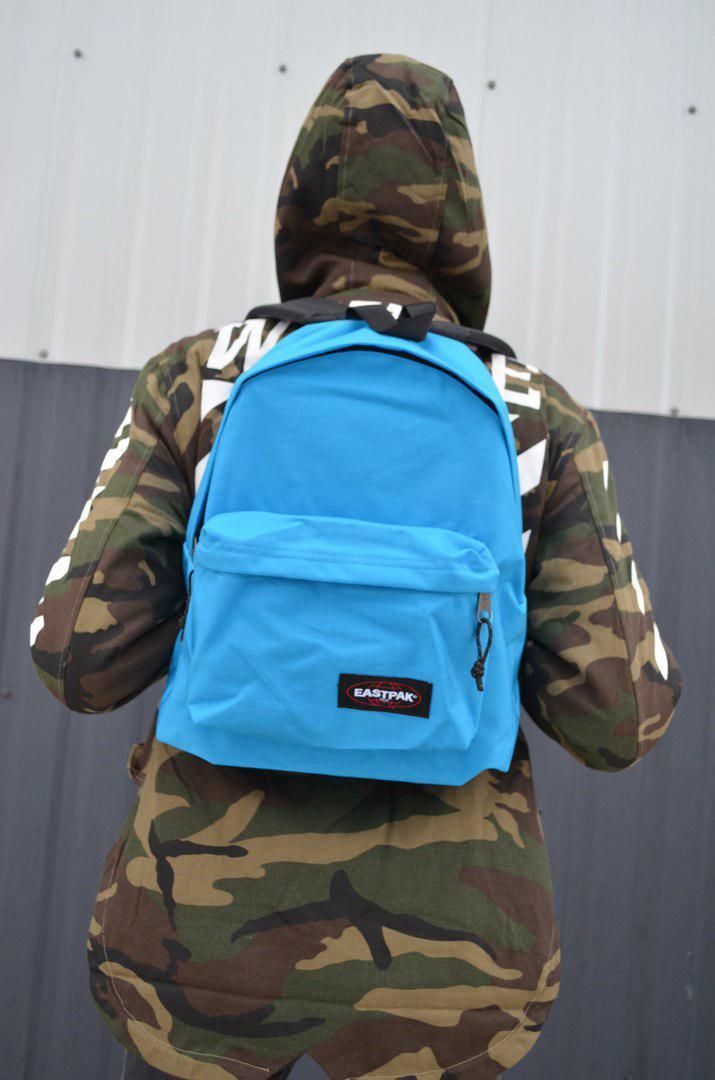 Рюкзак Eastpak Padded Pak'r blue. Оригинальные бирки с голограммой.