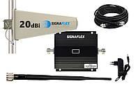 Польский усилитель мобильной связи репитер singaflex GSM-900 МГц