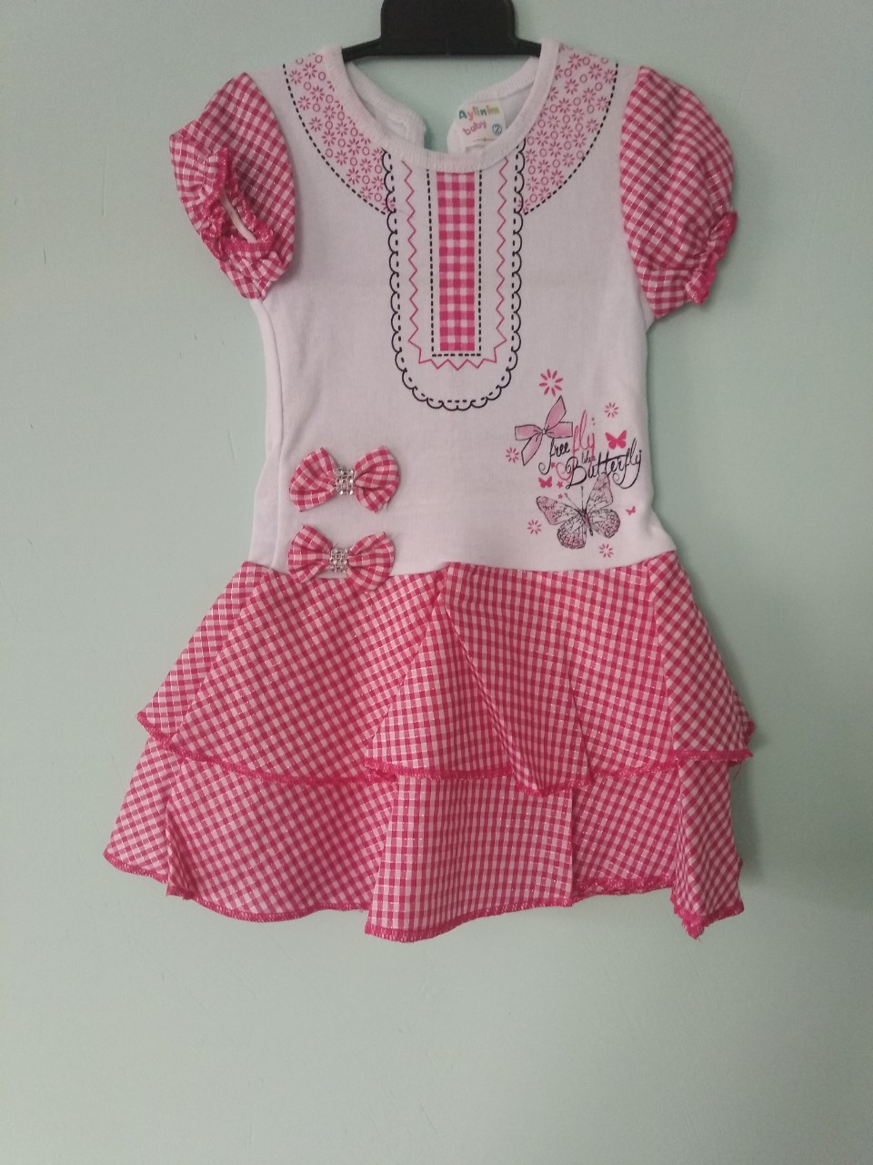 Платье летнее хлопок для девочки 2 года.Турция.