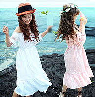 Бавовняне, мереживне, модне плаття на літо / Летнее платье для девочек новое хлопковое кружевное платье