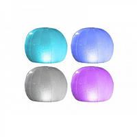 Плавающая подсветка для бассейна Шар 4цвета ремкомплект  INTEX 28693