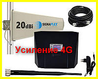 Польский усилитель мобильной связи репитер singaflex GSM/4G