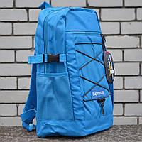 Рюкзак Supreme Big Bag Blue, фото 1