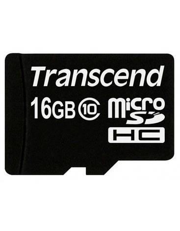 TRANSCEND microSDHC 16Gb Class 10 + SD адаптер, фото 2