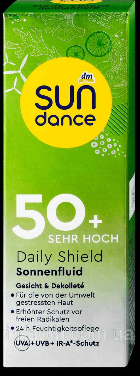 Sundance Sonnenfluid Daily Shield LSF 50+ солнцезащитный флюид для лица и зоны декольте СПФ 50+ 50 мл