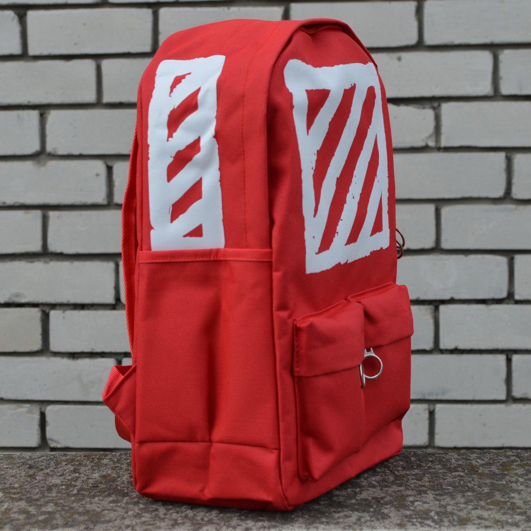 d0d9b4e0fed5 Купить Рюкзак Off-White Virgil Abloh Red 520 грн..