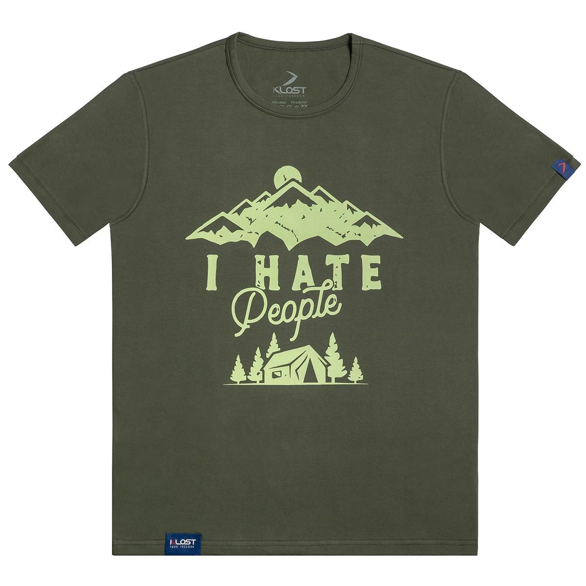 Футболка I Hate People - Гора
