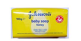 Johnson's baby детское мыло с медом 100 g