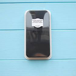 Накладка Apple Silicone Case для iPhone 5/5S Black