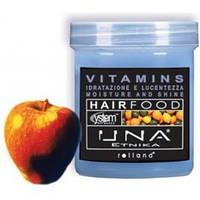 Rolland UNA Hair Food Vitamins Маска для увлажнения волос Витамины,1000 мл.