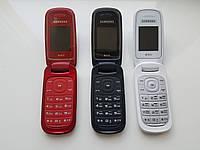 Кнопочный телефон раскладушка Samsung E1272 Duos!
