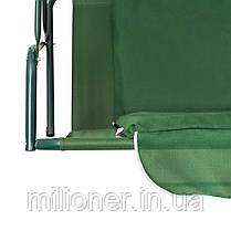 Качеля садовая Bonro  зеленая, фото 2