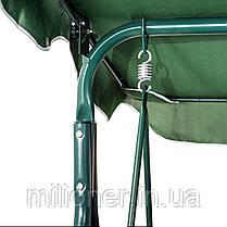 Качеля садовая Bonro  зеленая, фото 3