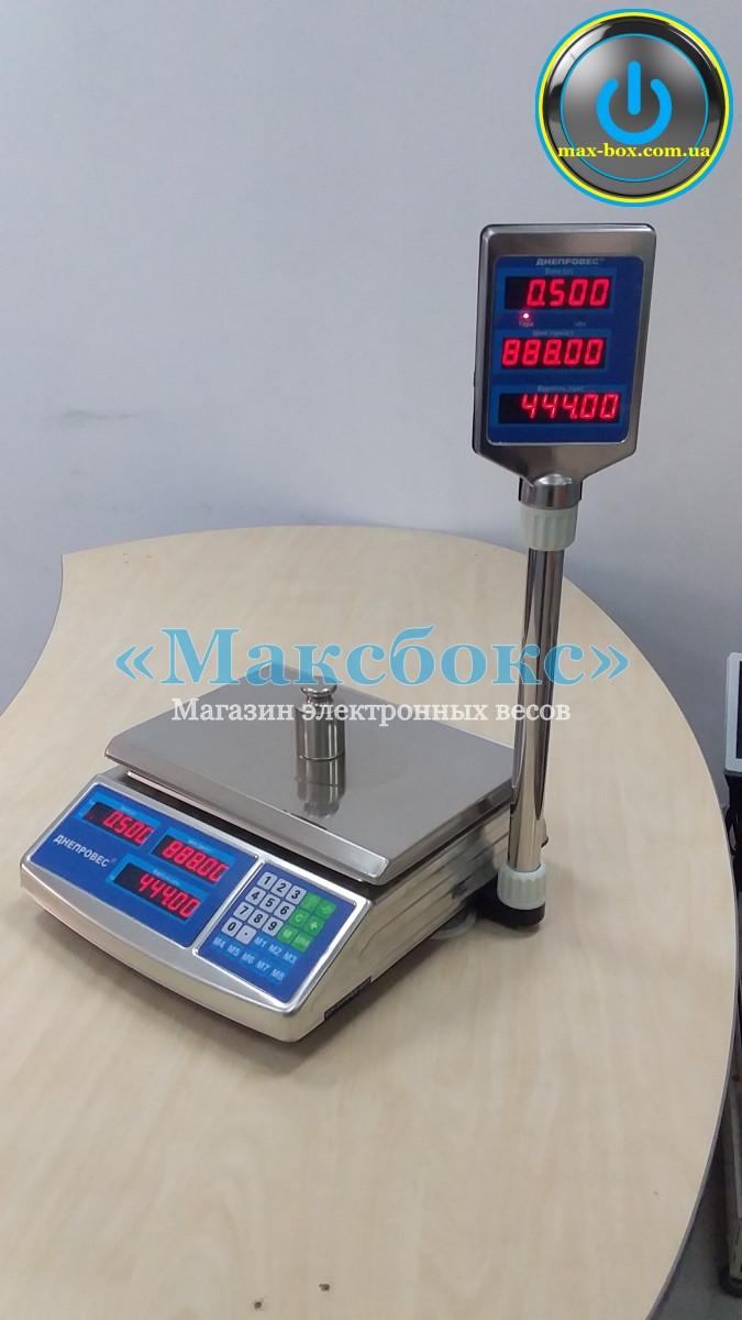 Весы торговые 15 кг — (ВТД-ЕЛС Днепровес)