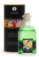 Масло для интимных поцелуев - Shunga Aphrodisiac Oil Green Tea со вкусом зеленого чая