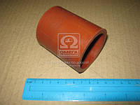 ⭐⭐⭐⭐⭐ Рукав турбокомпрессора 50*70 (красный) КАМАЗ (производство  Россия)  7406.1118276
