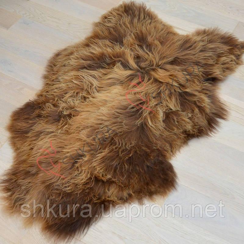 Шкура овцы Исланды коричневого цвета 01