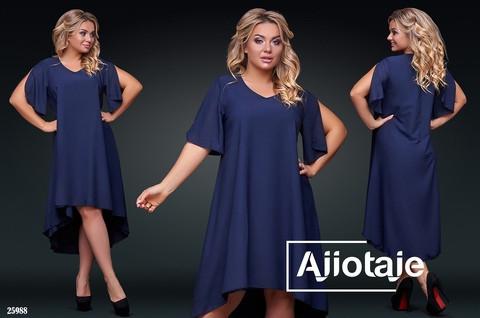 Дуже красиве жіноче батальне плаття сободного крою 50-56р.(4расцв)