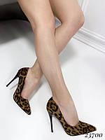 Туфли лодочки лео замш Comer, фото 1
