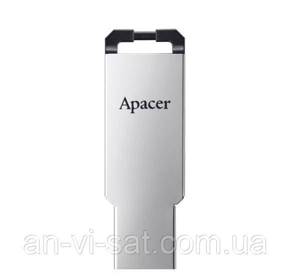 Флешка USB 2.0 Apacer AH310 32GB Metal silver