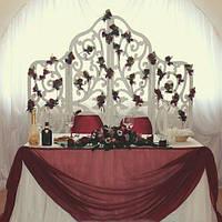 Свадебная ширма для фотосессии ажурная, для праздников
